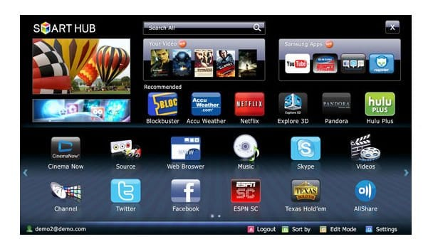 Connect TV to Internet - Paid & Free TV Apps for TV - Samsung Smart TVs Article_1301623932858