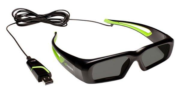... 2011] Nvidia Wired 3D Vision Glasses: Kacamata 3D Terbaru dari Nvidia