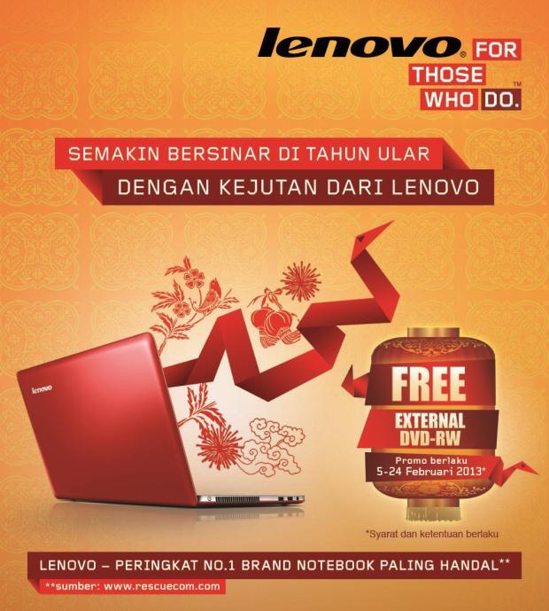 Lenovo Imlek 2013 promo 1