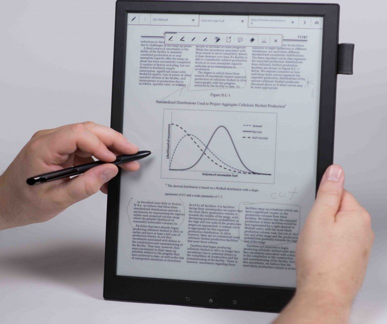 sony digital paper-1