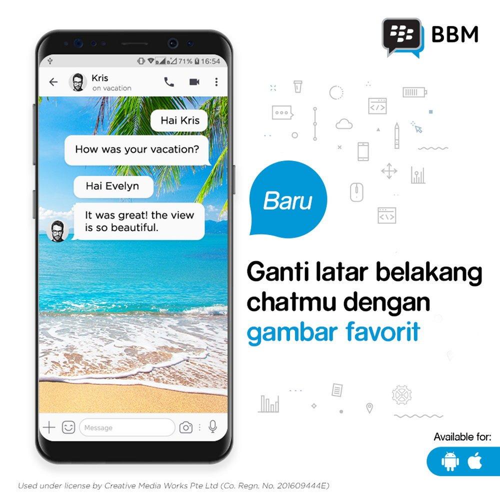 BBM Hadirkan Fitur Transfer Uang Lewat Chat