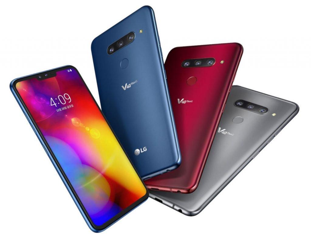 LG V40 ThinQ: Smartphone 5 Kamera dengan Layar 6,4 Inci dan Snapdragon 845