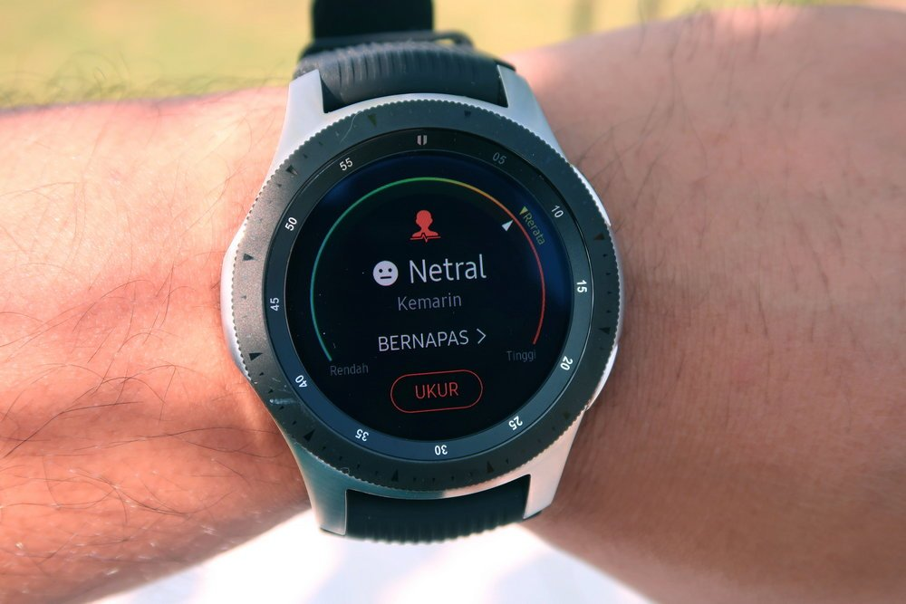 [Hands-On] Samsung Galaxy Watch: Desain Tetap Keren, Baterai Lebih Awet